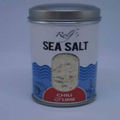 Chilli and Lime Sea flavoured salt