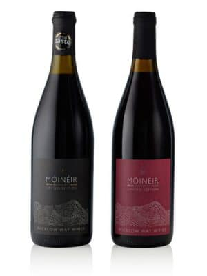 Móinéir 3 Irish Blackberry Wine + 3 Irish Raspberry Wine