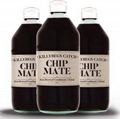 Chip Mate Non Brewed Vinegar in a bottle