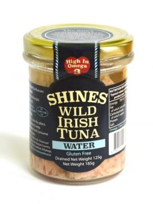Shines Wild Irish Tuna in Water 185g