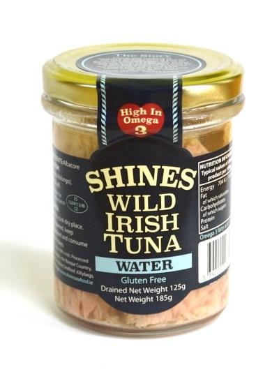 Shines Wild Irish Tuna in Water 185g