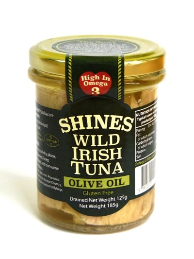 Shines Wild Irish Tuna in Olive Oil 185g