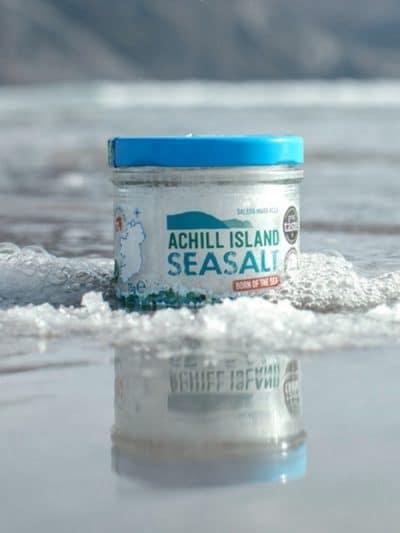 Atlantic Sea Salt in ocean