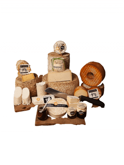 Hard Cheese Selection Box Raw Cheese