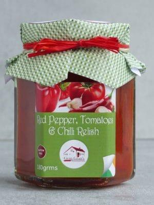 Gran Grans Red Pepper Tomato and Chilli Relish