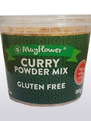 Mayflower's Gluten-Free-Curry-Sauce in 180g tub