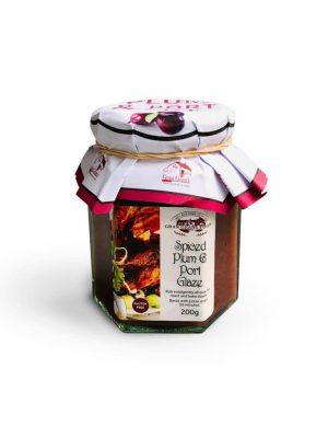 Spiced Plum Port Glaze by Gran Grans Foods