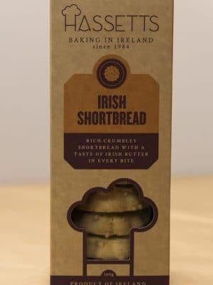 Hassetts Irish Shortbread in a box