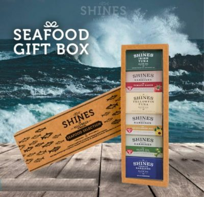 Selection of Seafood by Shines in a gift box