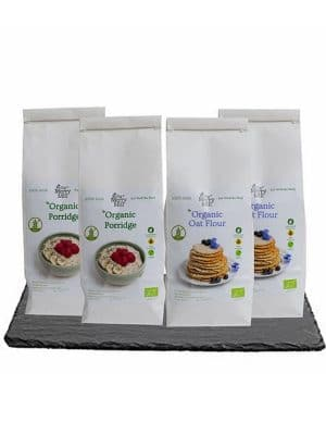 The Merry Mill Irish Organic Gluten Free Oat Flour and Porridge Bundle Deal