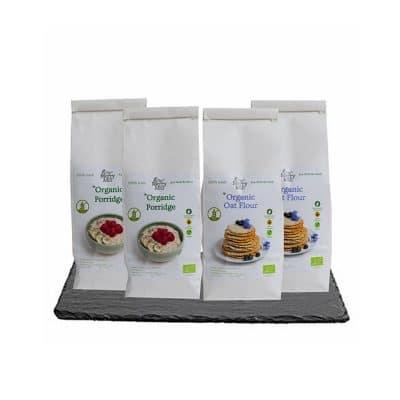 The Merry Mill Irish Organic Gluten Free Oat Flour and Porridge Bundle Deal