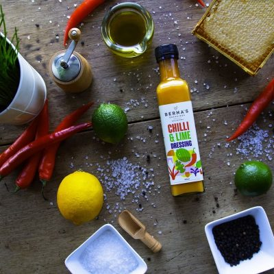 Berna Dressing - Chilli & Lime Dressing on Table Top