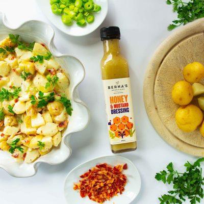Berna's Dressing - Honey & Mustard Dressing with Potato Salad