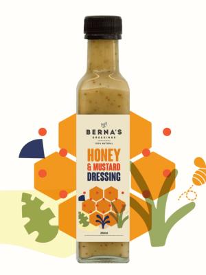 Berna's Dressing - Honey & Mustard Dressing