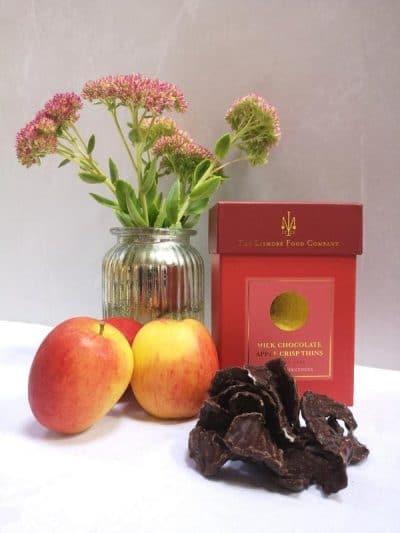 Lismore Milk Chocolate Apple Crisp Thins
