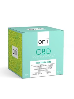 Onii CBD Tea Green Sancha Blend