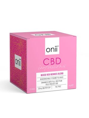Onii CBD Tea MIxed Red Berries