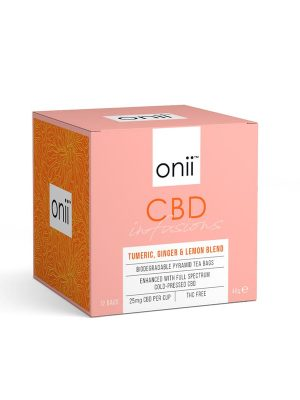 Onii CBD Tea Tumeric Ginger Lemon Blend