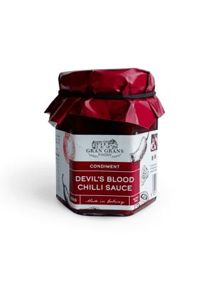 Devil's blood chilli Sauce by Gran Grans Food