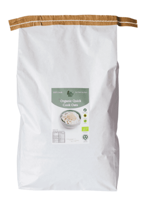The Merry Mill Organic Quick Porridge Oats 5kg Bag
