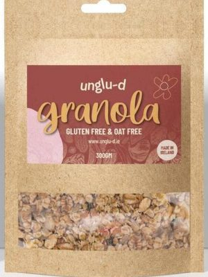 Gluten Free and Oat Free Granola by Unglu-d