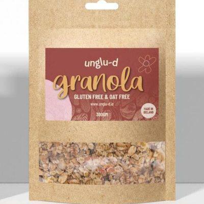 Gluten Free and Oat Free Granola by Unglu-d