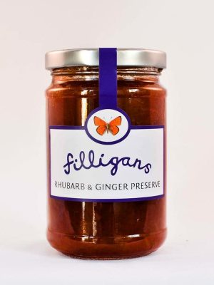 Rhubard & Ginger Preserve by Filligans' of Donegal
