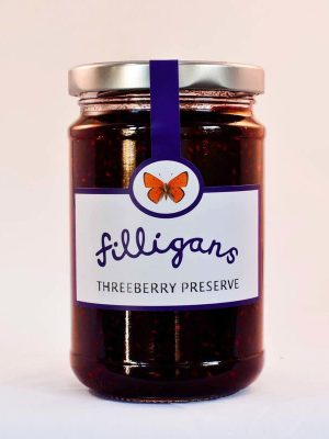 Three Berry Jam Preserve by Filligan's of Donegal